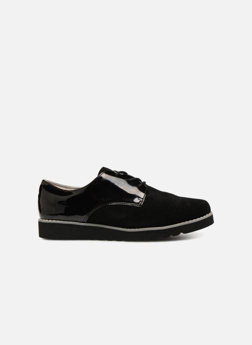Zapatos con cordones Damart Anais Negro vistra trasera