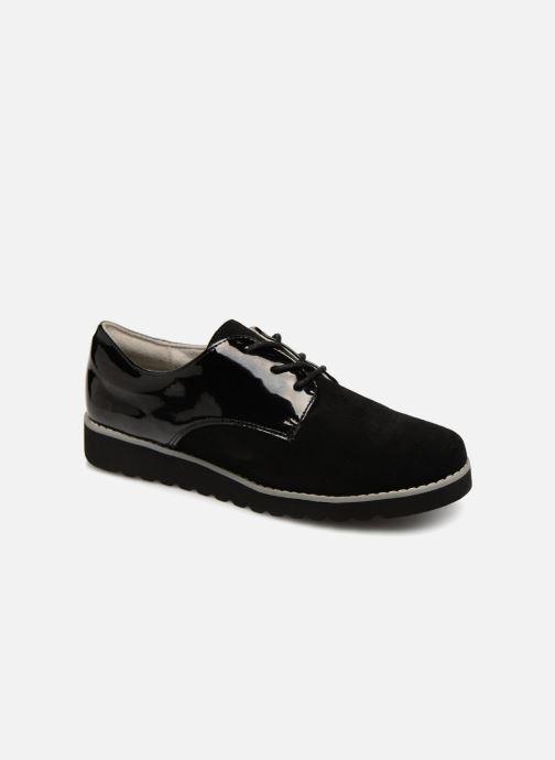 Zapatos con cordones Damart Anais Negro vista de detalle / par