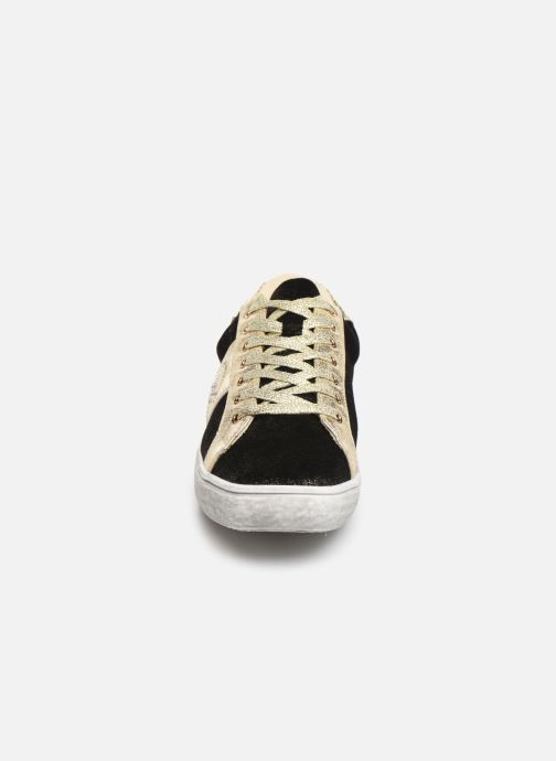Baskets Chattawak BARI Or et bronze vue portées chaussures