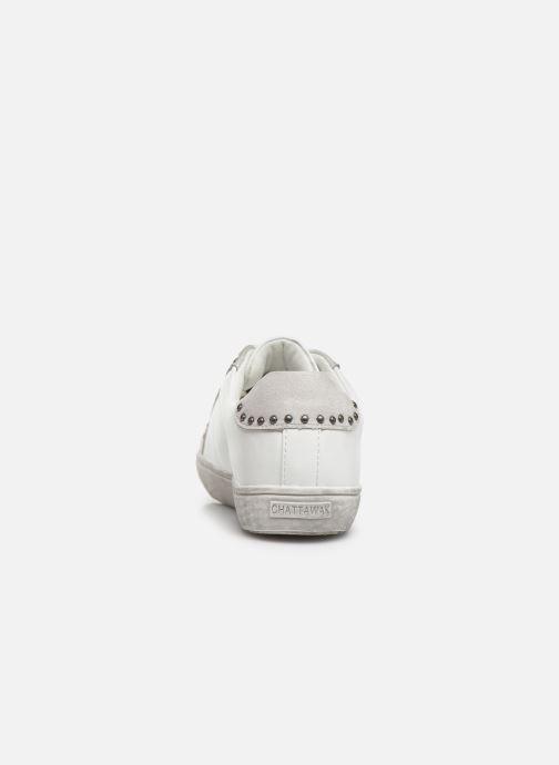 Baskets Chattawak BRESCIA Blanc vue droite