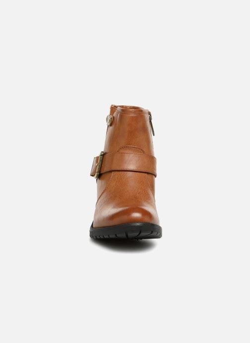 Bottines et boots Chattawak SARDAIGNE Marron vue portées chaussures