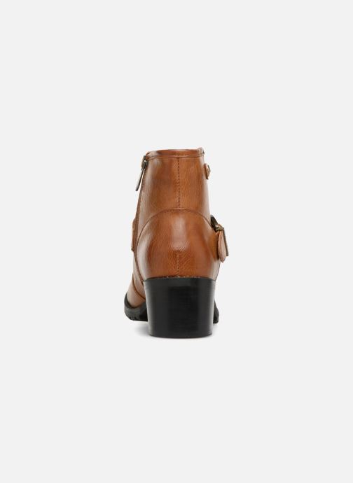 Bottines et boots Chattawak SARDAIGNE Marron vue droite