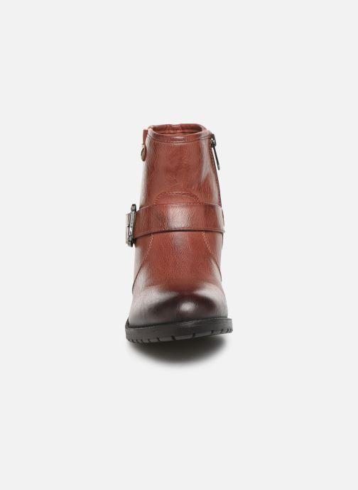 Bottines et boots Chattawak SARDAIGNE Bordeaux vue portées chaussures