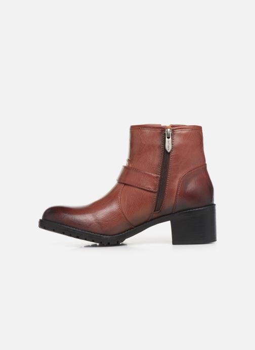 Bottines et boots Chattawak SARDAIGNE Bordeaux vue face
