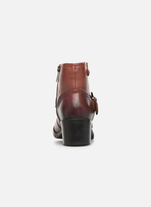 Bottines et boots Chattawak SARDAIGNE Bordeaux vue droite