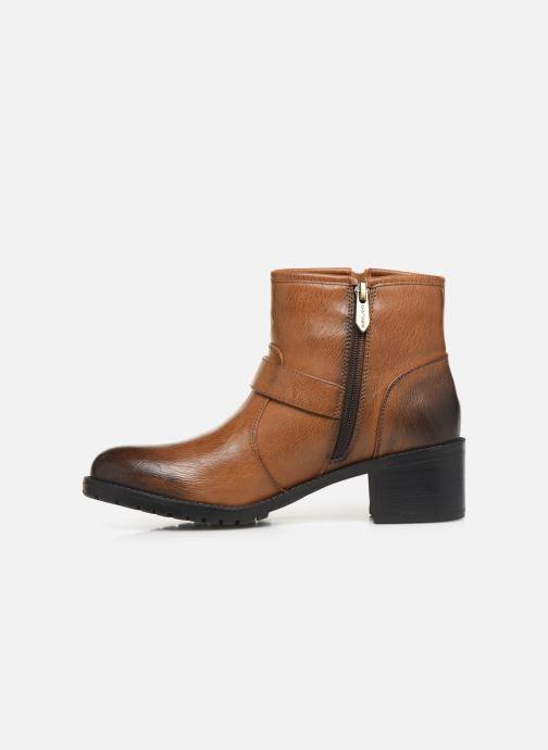 Bottines et boots Chattawak SARDAIGNE Marron vue face