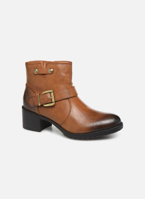 Bottines et boots Chattawak SARDAIGNE Marron vue détail/paire