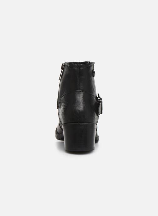 Bottines et boots Chattawak SARDAIGNE Noir vue droite