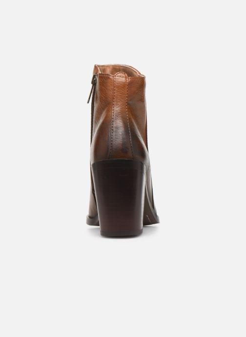 Bottines et boots Chattawak LATINA Marron vue droite