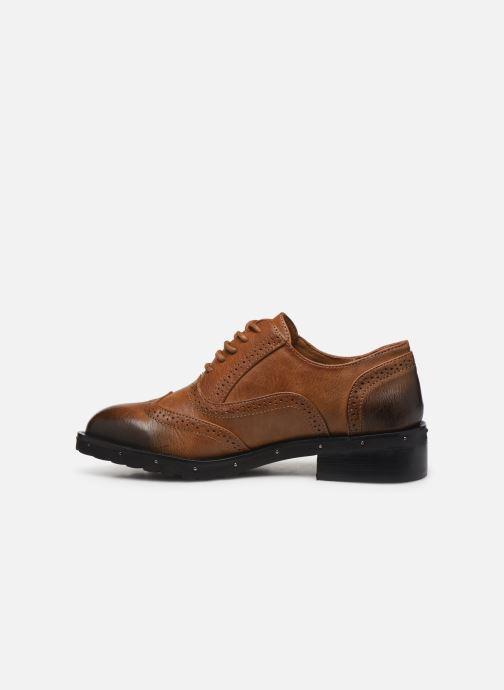 Chaussures à lacets Chattawak AMELIA Marron vue face