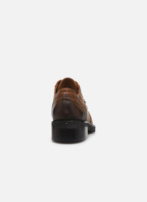Chaussures à lacets Chattawak AMELIA Marron vue droite