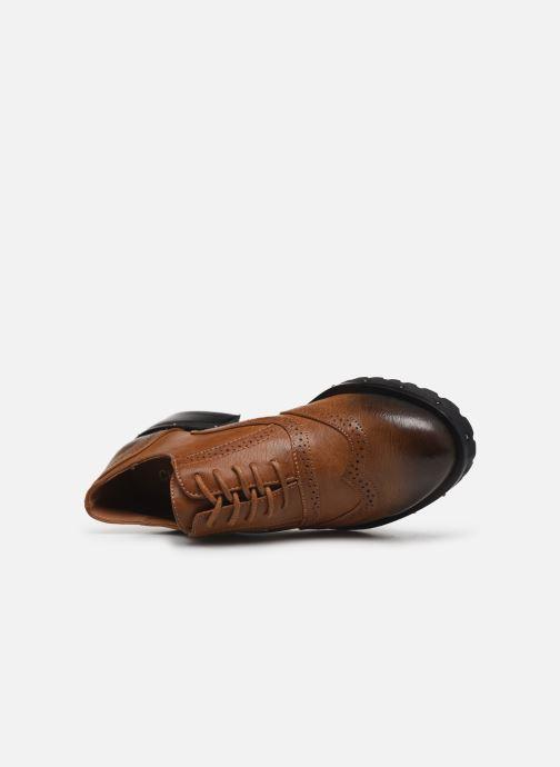 Chaussures à lacets Chattawak AMELIA Marron vue gauche