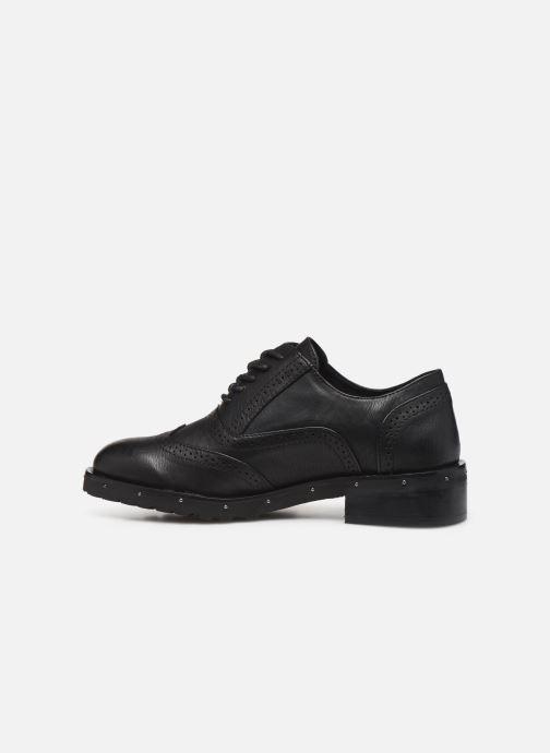 Chaussures à lacets Chattawak AMELIA Noir vue face