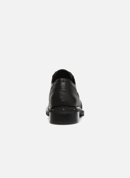 Lace-up shoes Chattawak 6 - AMELIA B Black view from the right