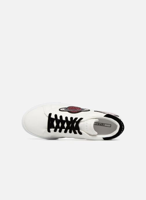 Trainers Esprit CHERRY UFO White view from the left