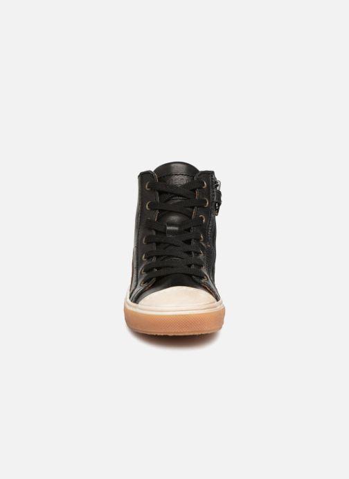 Baskets Bisgaard Hubert Noir vue portées chaussures