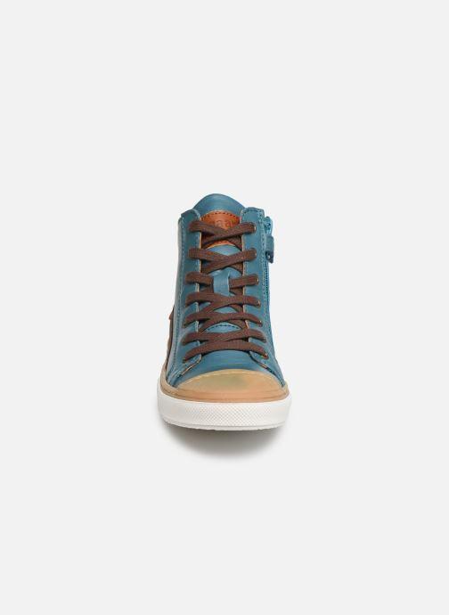 Baskets Bisgaard Hubert Bleu vue portées chaussures