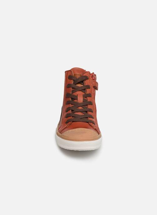 Baskets Bisgaard Hubert Orange vue portées chaussures