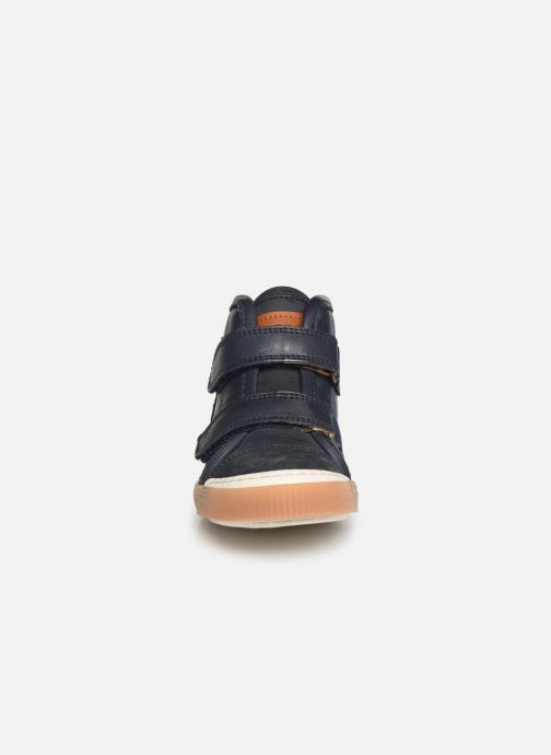 Baskets Bisgaard Joakim Bleu vue portées chaussures