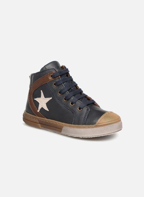 Sneakers Bisgaard Michael Blauw detail