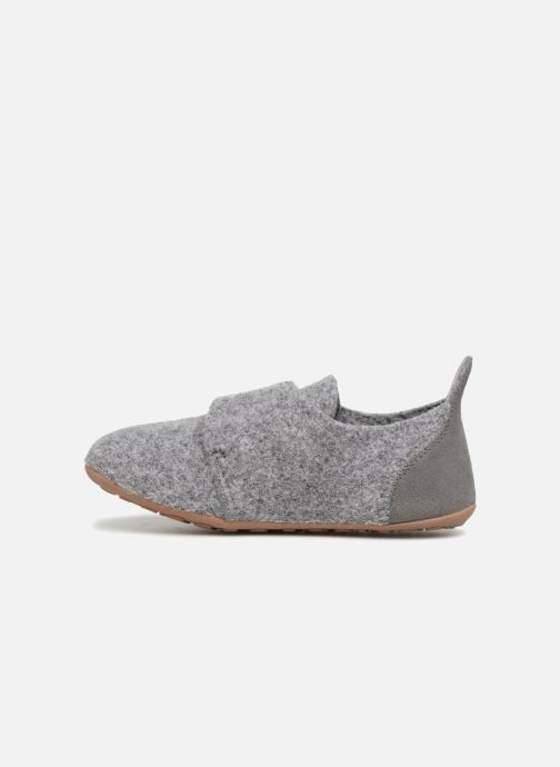 Chaussons Bisgaard Aksel Gris vue face