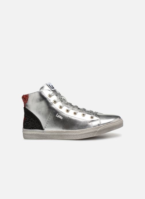 Trainers Les P'tites Bombes ANASTASIA Silver back view