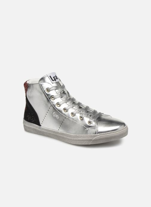 Trainers Les P'tites Bombes ANASTASIA Silver detailed view/ Pair view