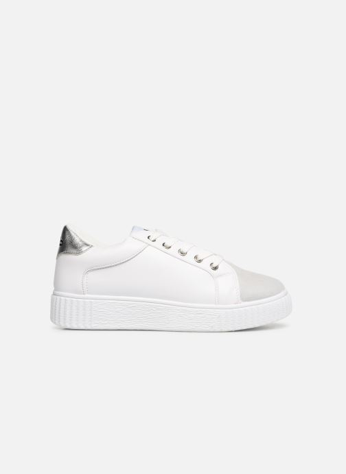 Trainers Les P'tites Bombes ADELINE White back view