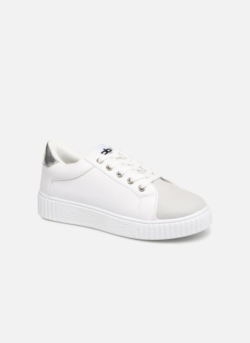 Trainers Les P'tites Bombes ADELINE White detailed view/ Pair view