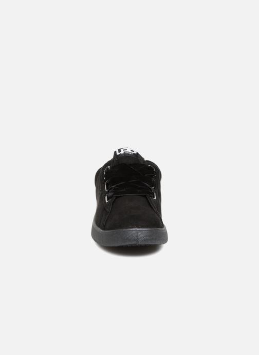 Baskets Les P'tites Bombes ANEMONE Noir vue portées chaussures