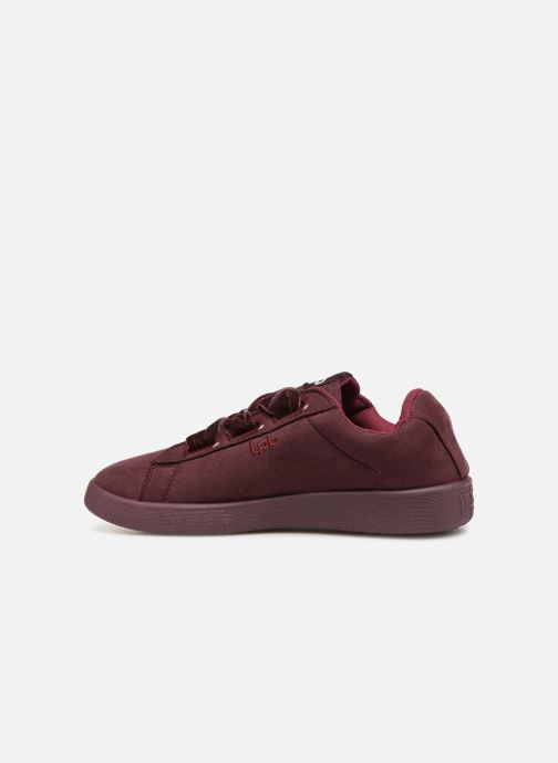 Trainers Les P'tites Bombes ANEMONE Burgundy front view