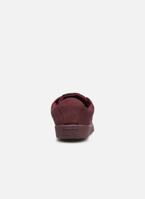 Sneaker Les P'tites Bombes ANEMONE weinrot ansicht von rechts