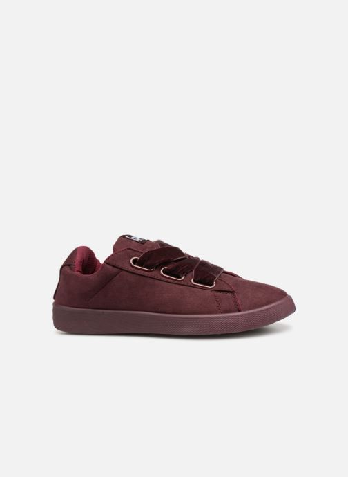 Trainers Les P'tites Bombes ANEMONE Burgundy back view