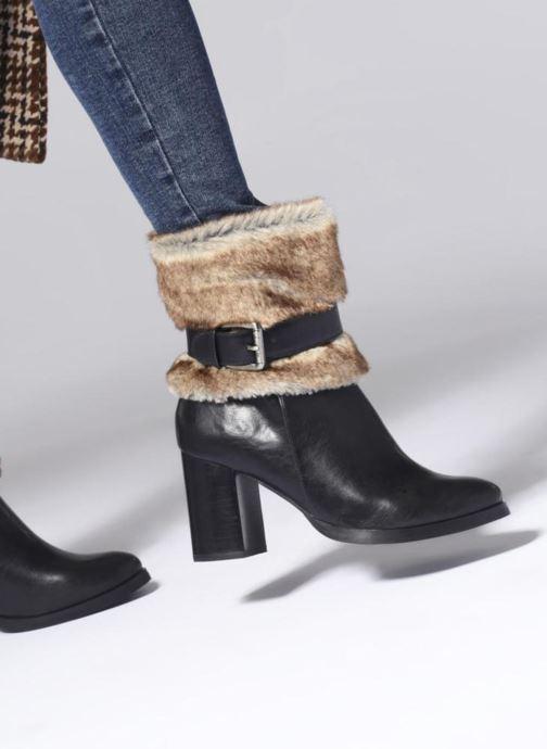 Rabatt Damen Schuhe Les P'tites Bombes JESSY schwarz Stiefeletten & Boots 333754555