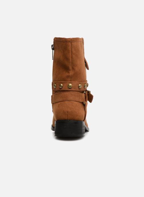 Bottines et boots Les P'tites Bombes LOUNA Marron vue droite