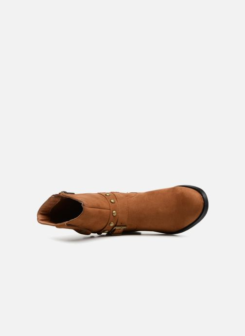 Bottines et boots Les P'tites Bombes LOUNA Marron vue gauche