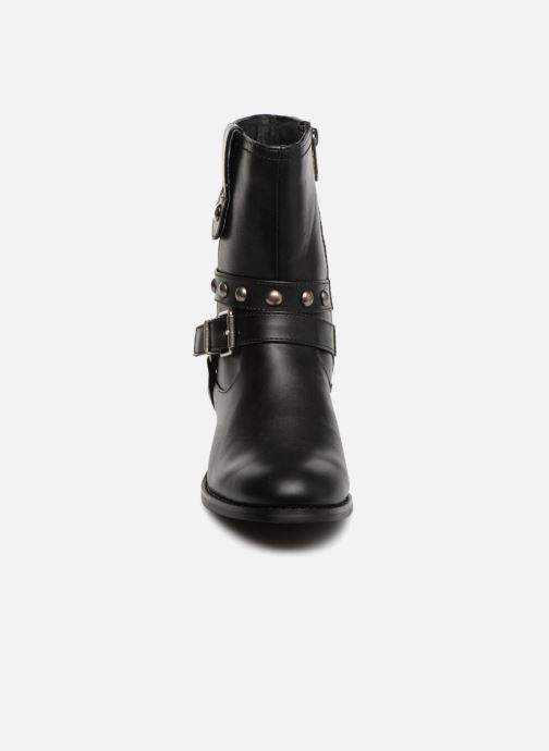 Bottines et boots Les P'tites Bombes LOUNA Noir vue portées chaussures