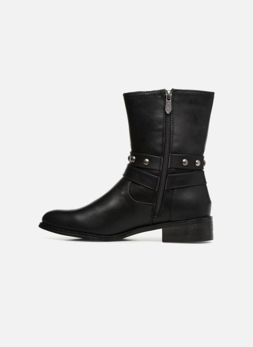 Bottines et boots Les P'tites Bombes LOUNA Noir vue face