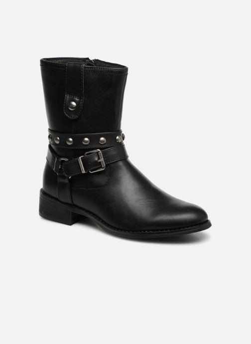 Bottines et boots Les P'tites Bombes LOUNA Noir vue détail/paire