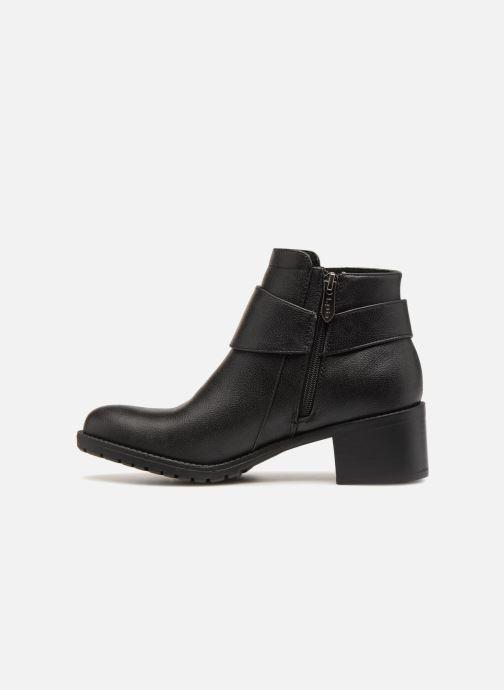 Bottines et boots Les P'tites Bombes LAURINE Noir vue face
