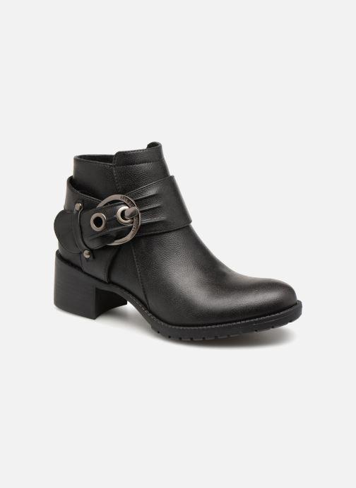 Bottines et boots Les P'tites Bombes LAURINE Noir vue détail/paire