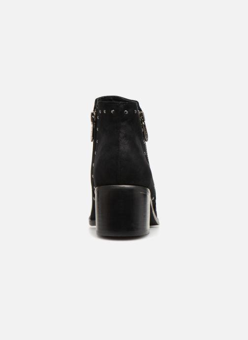 Bottines et boots Les P'tites Bombes JUDITH Noir vue droite