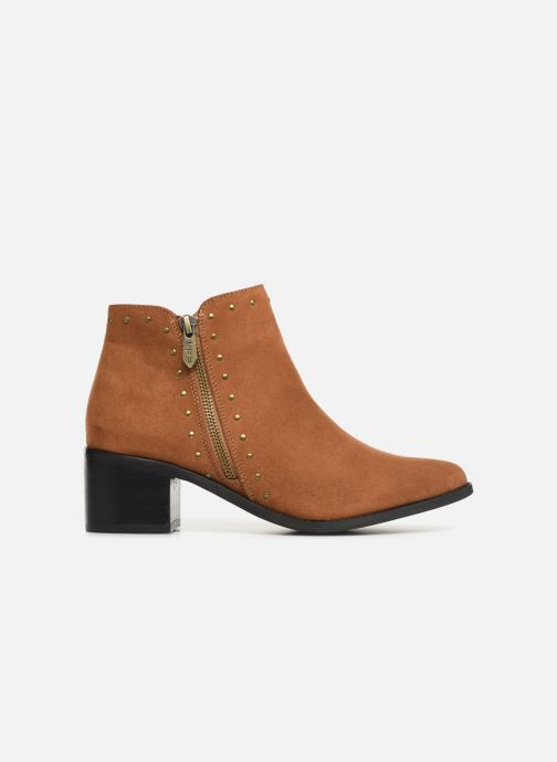 Ankle boots Les P'tites Bombes JUDITH Brown back view