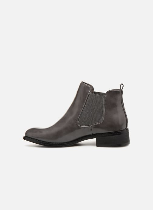 Ankle boots Les P'tites Bombes LANA Grey front view
