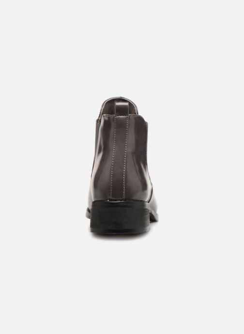 Stiefeletten & Boots Les P'tites Bombes LANA grau ansicht von rechts