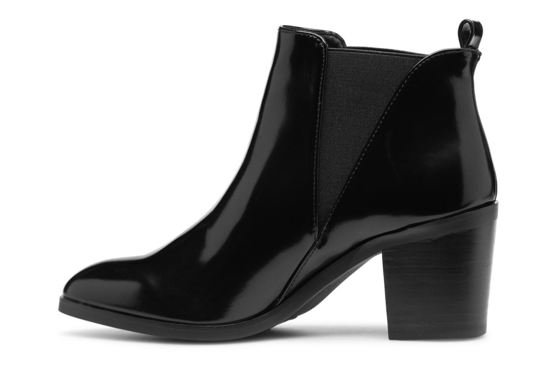 Bottines et boots Les P'tites Bombes HELOISE Noir vue face