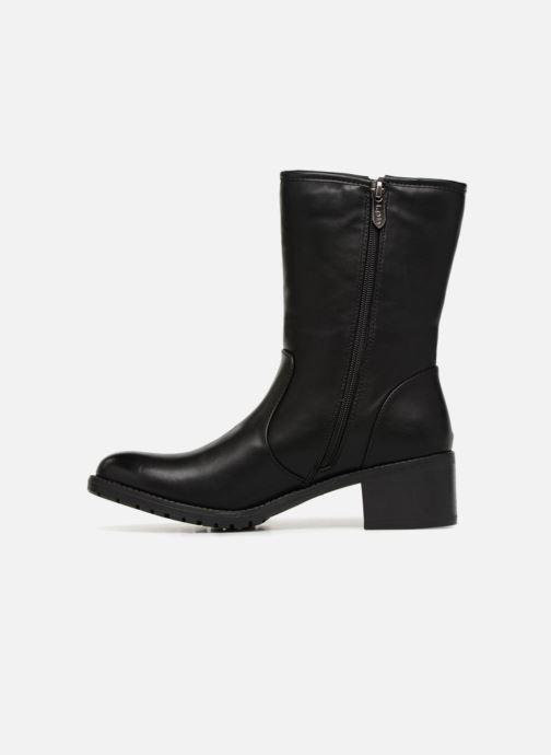 Stiefeletten & Boots Les P'tites Bombes LENA schwarz ansicht von vorne
