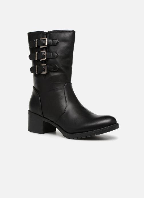 Bottines et boots Les P'tites Bombes LENA Noir vue détail/paire