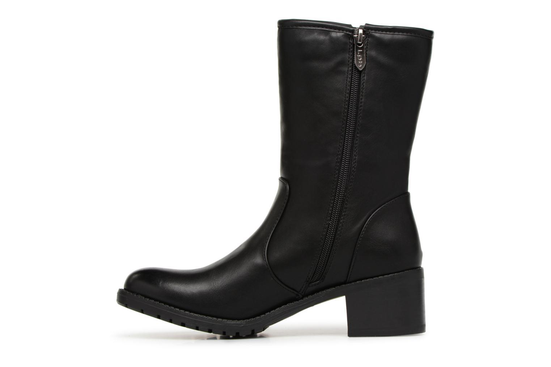 Bottines et boots Les P'tites Bombes LENA Noir vue face