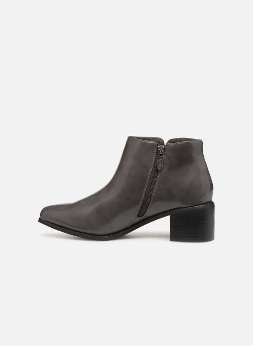 Ankle boots Les P'tites Bombes JOSEPHINE Grey front view